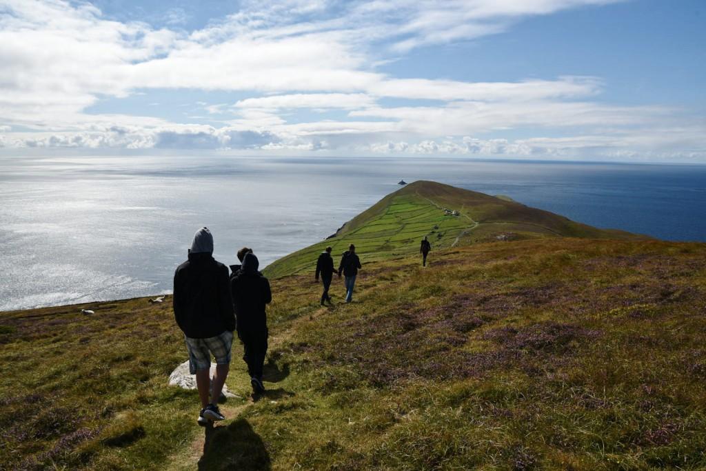 Wunderschöne Natur auf Dursey Island