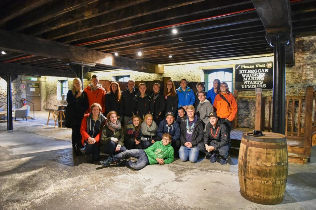 Besichtigung der Kilbeggan Distillery